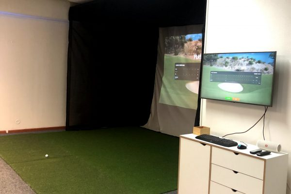 Trackman golf simulaattori